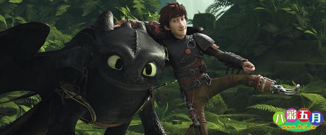 动画电影《驯龙高手2》鉴赏 突破极限装备升级-八彩历史